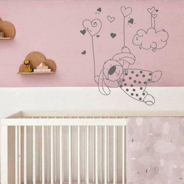 stickers lapin chambre bébé sticker chambre bebe printemps koala famille arbre vinyl