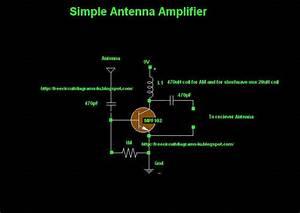 Antenna Amplifier Wiring Diagram Schematic