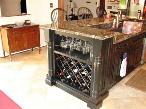 kitchen islands with wine rack kitchen island wine rack 28 images kitchen island with