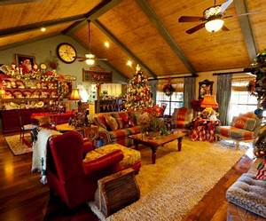 Haus Weihnachtlich Dekorieren : wohnzimmer einrichtungsideen dekorieren sie das haus zum weihnachten ~ Markanthonyermac.com Haus und Dekorationen