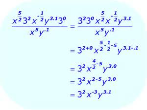 Math Problems with Exponents