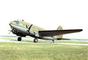 Curtiss-Wright C-46 Commando Twin-Engine Long-Range ...