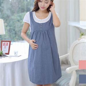 Aliexpress.com  Buy Maternity Clothing Summer Women Short Sleeve Patchwork Casual Dress Clothes ...
