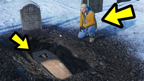 brad visits  grave   dies gta