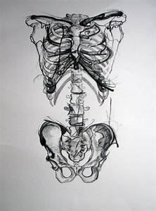 drawing death art horror gore morbid skeleton Macabre ...