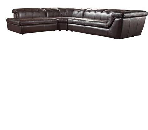 modern italian leather sofa dreamfurniture com divani casa refata modern italian