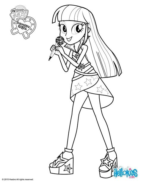 Twilight Sparkle Coloring Pages To And Print For Free 600 Best Images About Coloring Pages Su