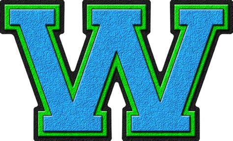 Light Blue & Kelly Green Varsity