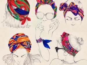 Tete A Coiffer Afro : tuto coiffure comment se coiffer avec un foulard hair beauty coiffure coiffure avec ~ Melissatoandfro.com Idées de Décoration