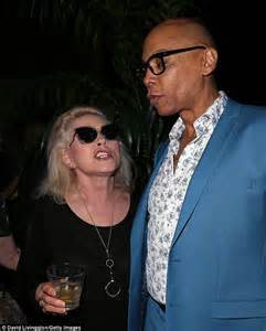 Debbie Harry hangs out with pals Boy George and RuPaul at ...