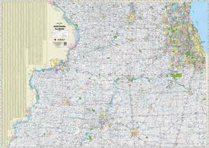 Northern Illinois Highway Map