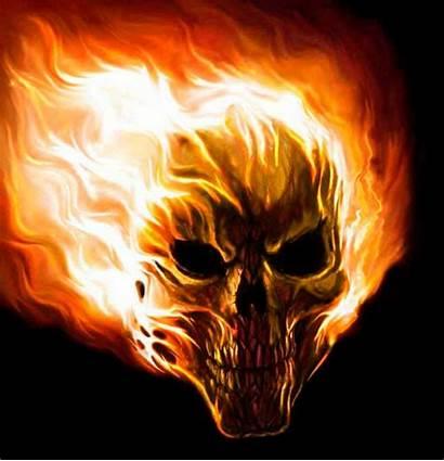 Calaveras Skull Chidas Fire Gifs Gifimage