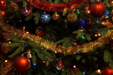 christmas christmas tree decorations lights