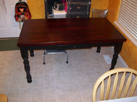 kitchen table refinishing ideas confessions of a twilight addict refinishing the kitchen
