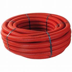 Gaine Pour Cable : gaine tpc enterrer pour passage de c ble rouge ~ Premium-room.com Idées de Décoration