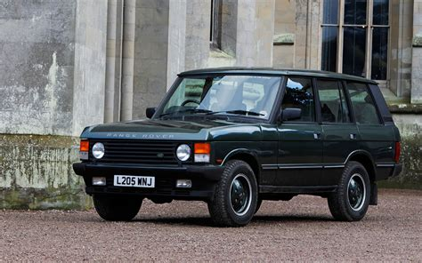land rover classic for 1995 land rover range rover classic front three quarter