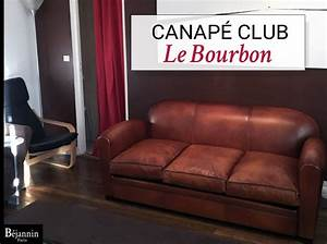 canape club cuir 3 places le bourbon canape club cuir With tapis champ de fleurs avec canape cuir 3 places et 2 places