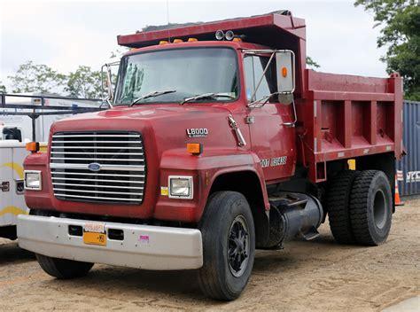 File1989 Ford Ln8000 Diesel Dump Truck, Redjpg Wikipedia