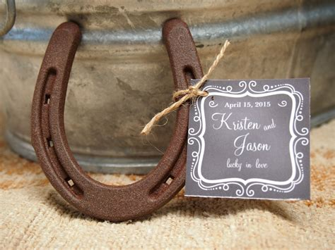 horseshoe decorations for wedding unique say quot i do quot to