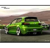 Fast Speed Cars Volkswagen Golf