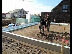 Fundament Und Bodenplatte : gedaemmte bodenplatte fundament f r ihr effizienzhaus youtube ~ Whattoseeinmadrid.com Haus und Dekorationen