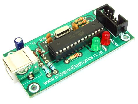 Buy Usb Avr Programmer For Atmega Mcus Lowest Cost