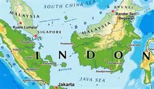 countries border indonesia worldatlascom