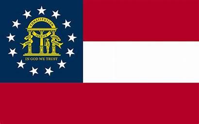 Flag Georgia State States History United Britannica