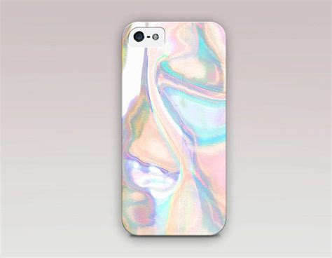 Holographic Printed Phone Case For