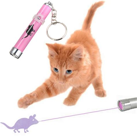cat laser light pet cat play led laser pointer light with bright mouse