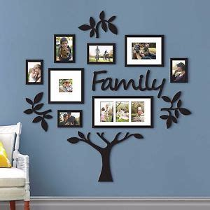 family tree frame collage pictures frames multi photo mount wall decor wedding 32231503128 ebay