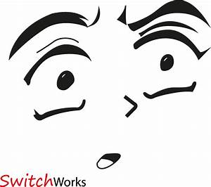 Anime Face - shocked by switch1993 on DeviantArt