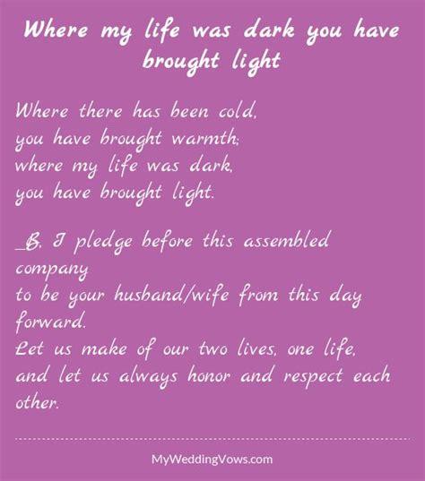 life  dark   brought light wedding