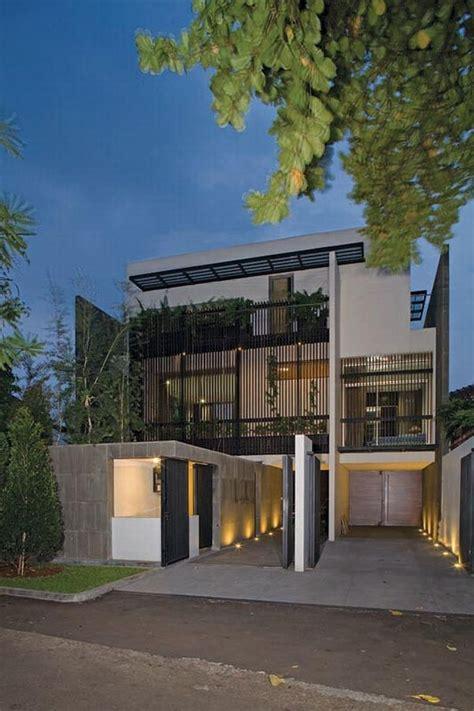 exquisite split level house  jakarta indonesia
