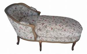 Vintage Louis XV Style French Country Chaise Lounge Chairish