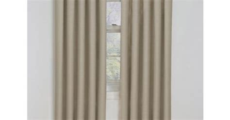These Sand-colored Blackout Curtains From Eclipse Come In The Following Sizes Curtains Perth Wa Kids Red Queen Size Bed Canopy Bay Curtain Rail Purple Toile Modern Living Room Drapes Boys Nursery Wide Grommet