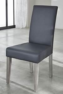 Chaise namur gris for Meuble salle À manger avec chaises salle À manger grises