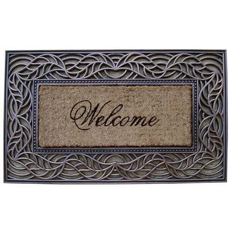 Decorative Doormats by Impression Welcome Decorative Door Mat Jet