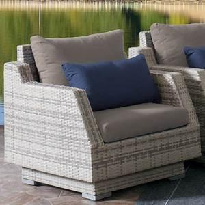 Fauteuil Exterieur Osier : fauteuil de patio azure de corliving en osier pour l ~ Premium-room.com Idées de Décoration