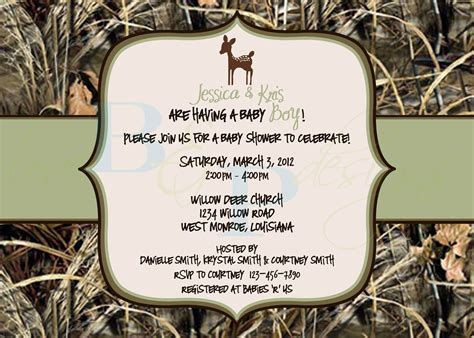 throw camouflage themed baby shower