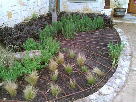 drip irrigation mulch water management services southern botanical