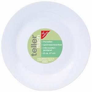 Teller Flach Weiß Günstig : gut g nstig teller porzellan flach 27 cm von edeka ~ A.2002-acura-tl-radio.info Haus und Dekorationen