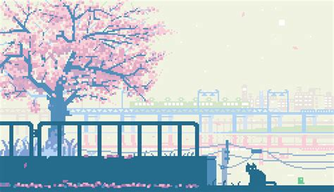 Fall In Love With These Gorgeous 8-bit Gifs Of Japan