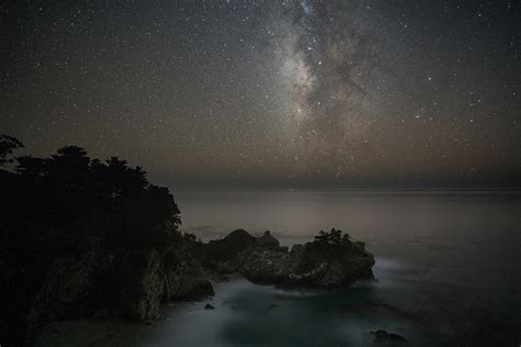 Stars Over Mcway Falls Big Sur Forums