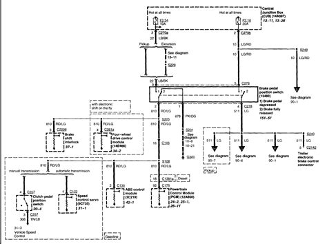 1995 Ford Explorer Wiring Schematic by 1995 Ford F 150 Truck Wiring Diagram Wiring Diagram And