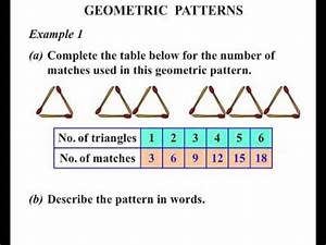 Year 5 Lesson: Geometric Patterns - YouTube