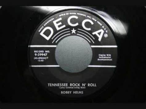 bobby helms itunes bobby helms tennessee rock n roll youtube