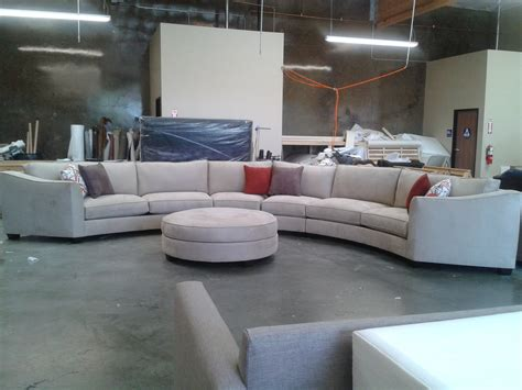Grey Modern Couch And Dark Gray Sectional Tow Seat Sofa