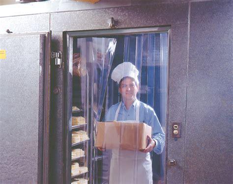refrigeration freezer vinyl curtain door restaurant