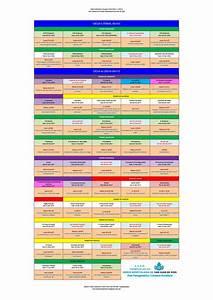 Tabla calendario litúrgico curso 2016 2017 by Norka C